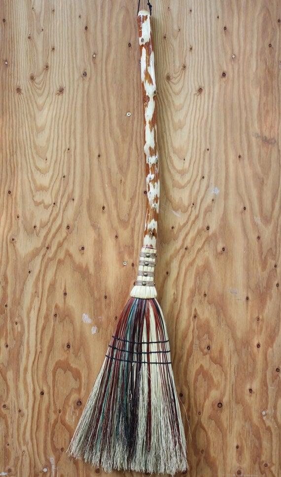 Autumn Harvest - Handmade Sassafras Kitchen Broom