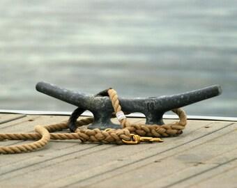 """Nautical Dog Leashes - The Fair Lead """"Classic"""" (Brown)"""