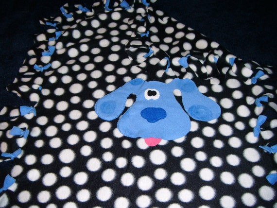 Blues Clues Fleece Blanket Free By Curlyscreations2 On Etsy