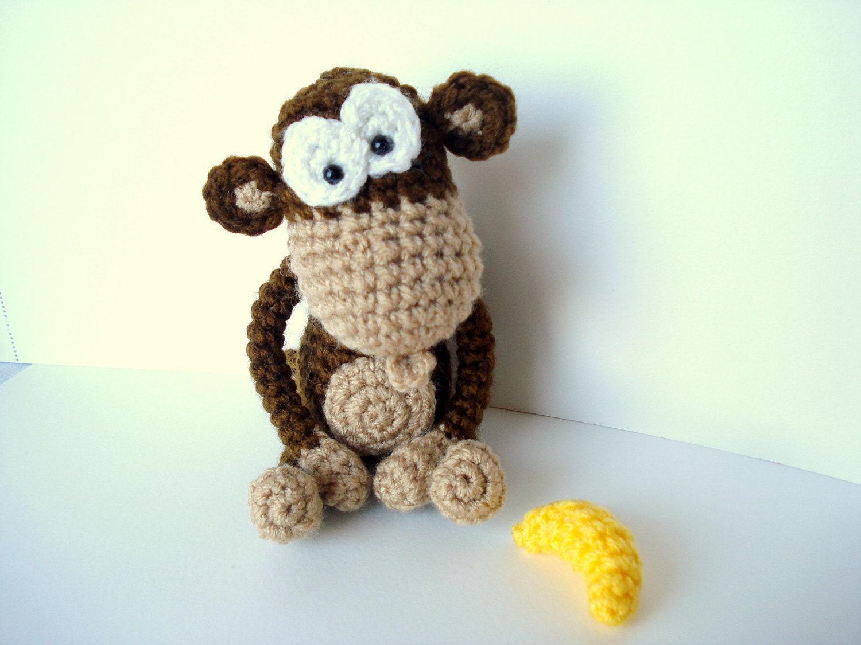 Presepe Amigurumi Etsy : Pattern Amigurumi Pattern Amigurumi Monkey Pattern