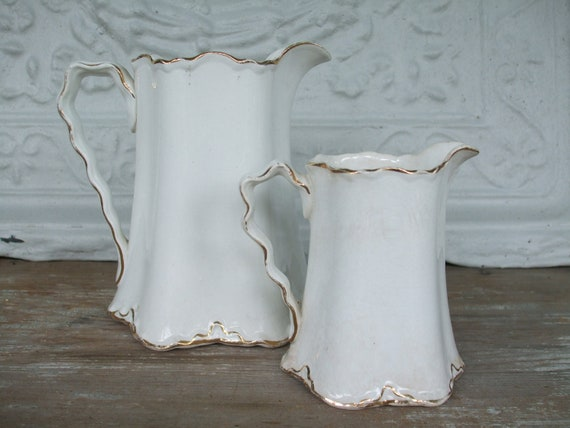 Cream Pitchers Set of 2 Radisson W.S. George ON SALE