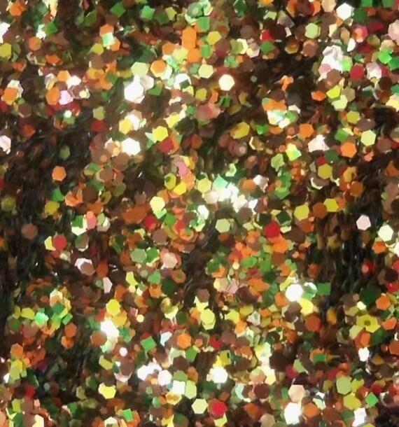 MINI Autumn Harvest Glitter Nail Polish