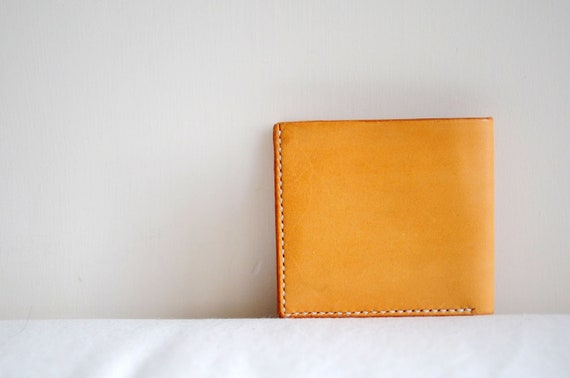 Hand Stitched Leather Basic Wallet