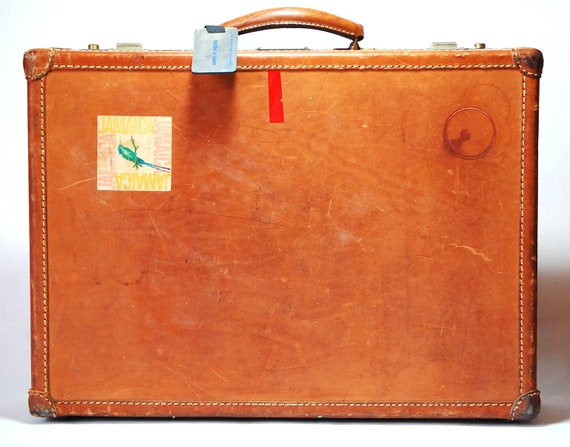 Rustic Quality Leather Briefcase