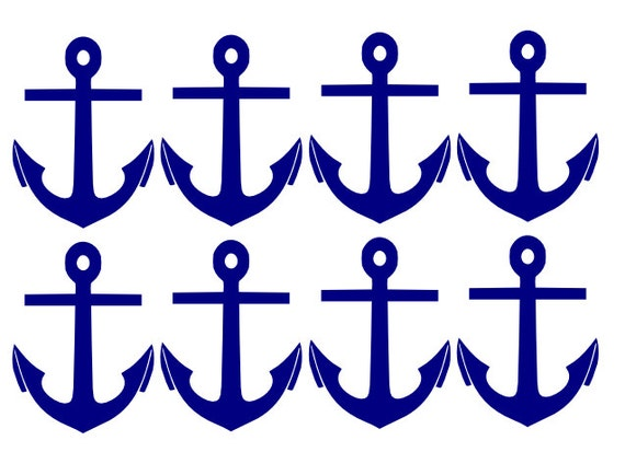 nautical anchor decals you choose the colors