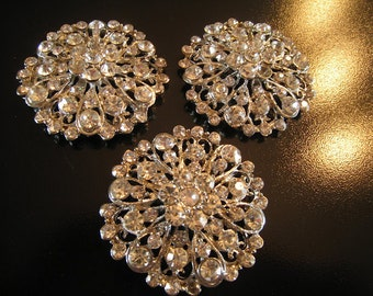 Rhinestone Brooch - Grade B/Imperfect Lot of Brooches
