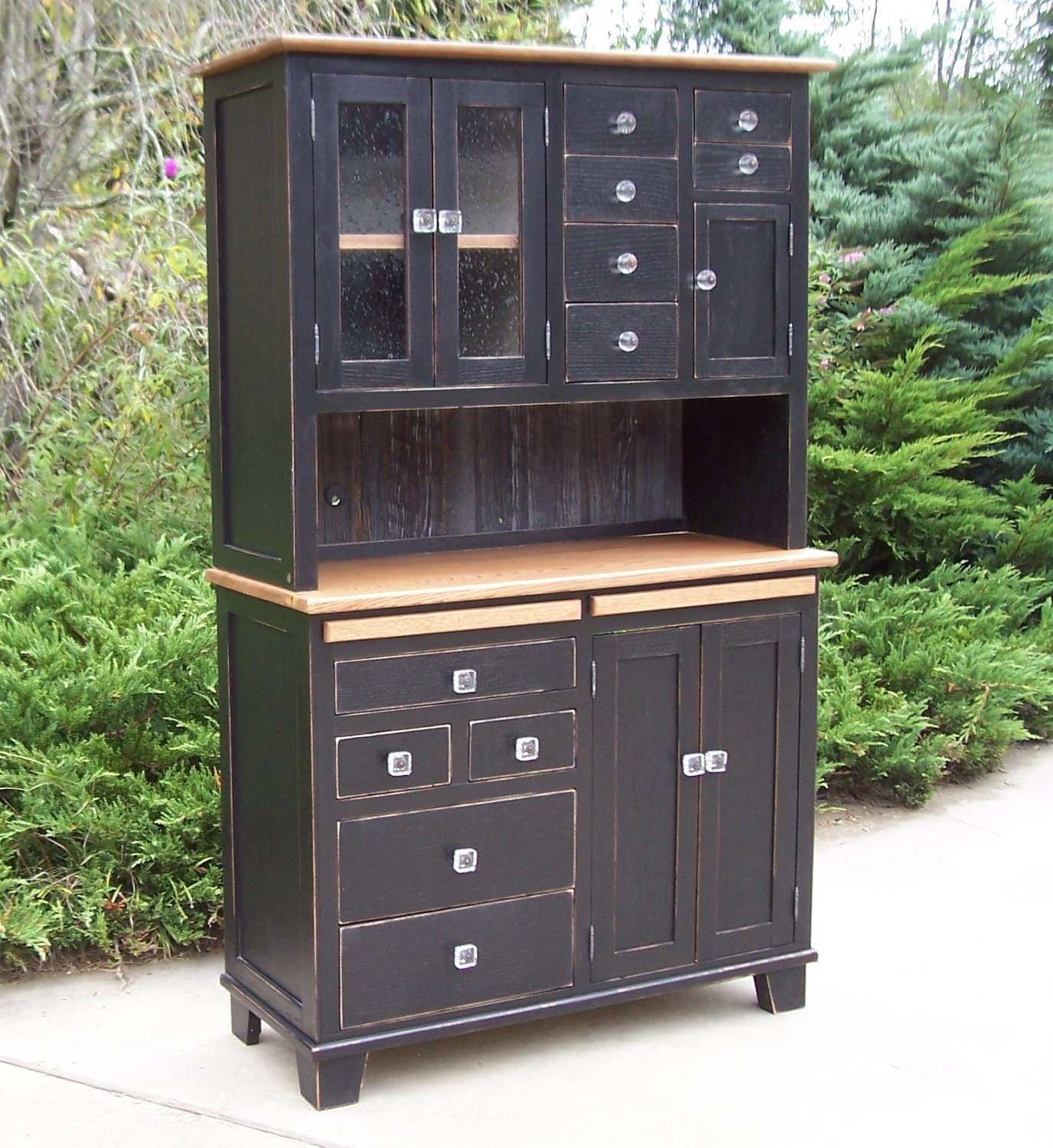 Custom Hoosier Cabinet By NaturesKnotsFurnitur On Etsy