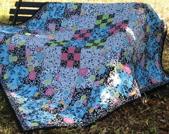 Lap Quilt - Two Quilts in One
