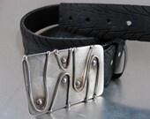 Alien Amoeba Belt buckle