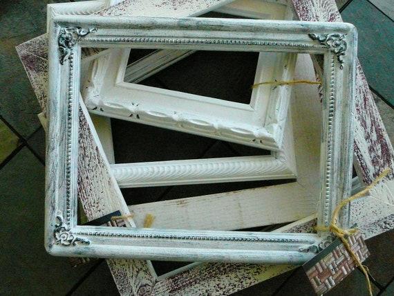 FRAME / Shabby Chic / Cottage Chic / Wedding Decor / Home Decor / White Frame /