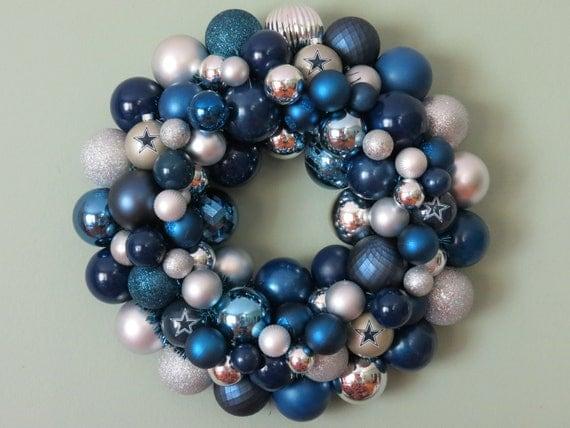DALLAS COWBOYS  Ornament Wreath