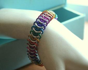 Rainbow Centipede Bracelet