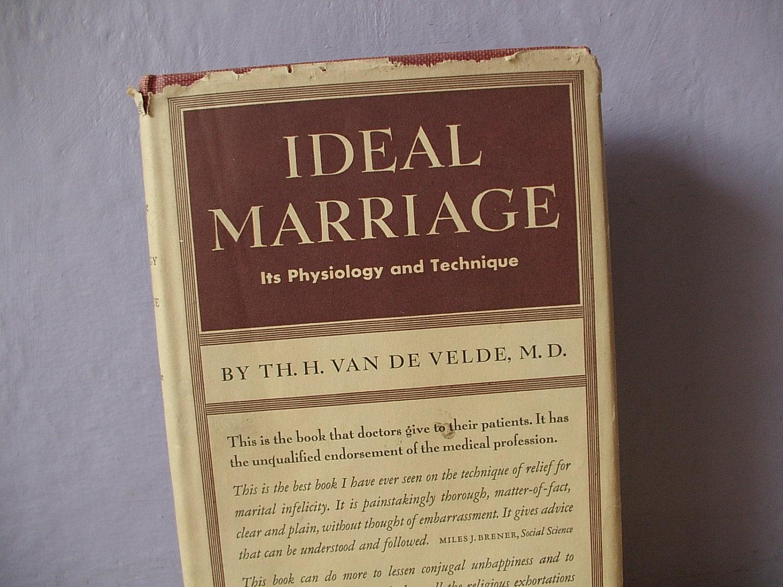 Ideal marriage by dr.van de velde