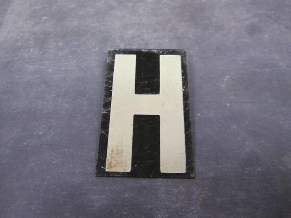 Vintage Letter H Capital