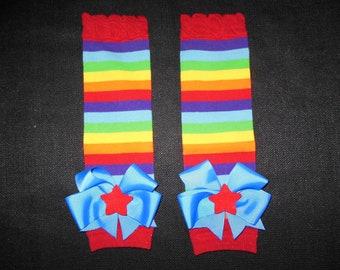 Rainbow Bright legwarmers