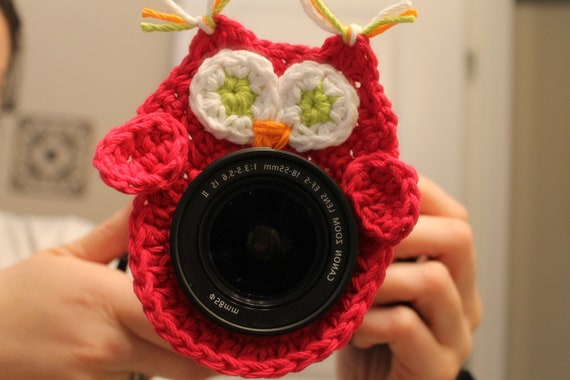 INSTANT DOWNLOAD Owl Camera Buddy PATTERN