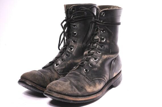 US Army 1960s Vietnam Combat Boots Size 10