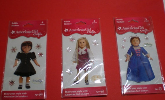 Set of 3 American Girl Crafts Christmas Doll / FREE SHIPPING
