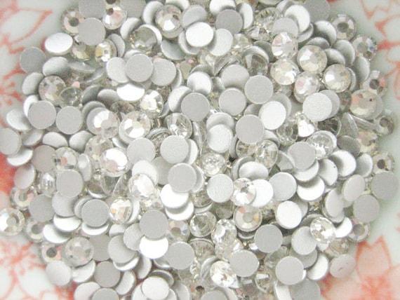 77 pcs - Crystal Clear SS16 High Quality Flatback Rhinestones Deco (4mm) RH10016 (((LAST)))