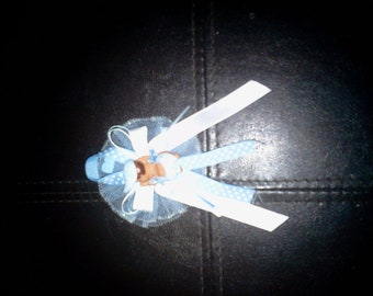 Custom baby shower corsages and25  capias/ pin ons