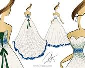 Private Listing 50% Deposit for Custom Dress for Amanda