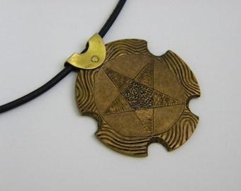 Brass Star Pendant