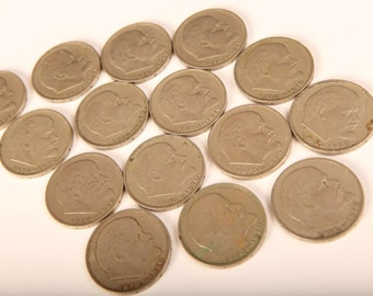 Lot of 15 Coins Coin 1970 USSR Russian Soviet Ruble ROUBLE 100 years LENIN Birth