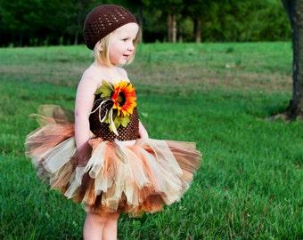 Scarecrow Tutu Costume  Includes the tutu and hat