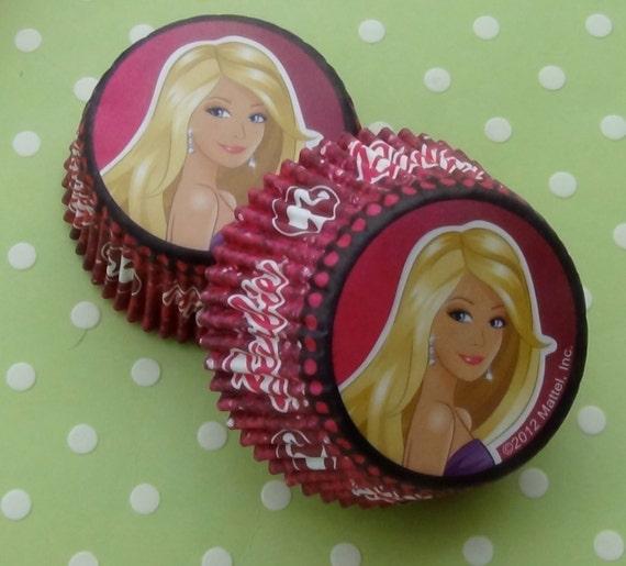 Barbie Cupcake Liners