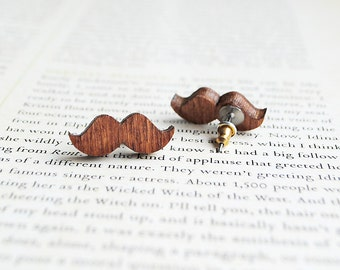Moustache Earrings | Movember Jewellery