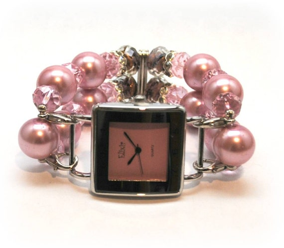 RESERVED Interchangeable Watch Pink Sophistication