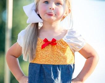 Jessie Dress, Toy Story Jessie Dress, Disney Inspired Dress, Princess Dress Up, Girls Costume, Halloween Dress