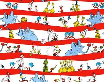 Dr. Seuss CELEBRATE SEUSS Celebration ADE-10788-203 Fabric Robert Kaufman