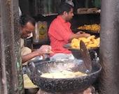 Street Food Delhi India 8X10 Photograph