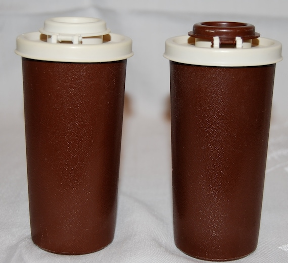 Vintage tupperware salt and pepper shakers by springsofjoy2 for Vintage tupperware salt and pepper shakers