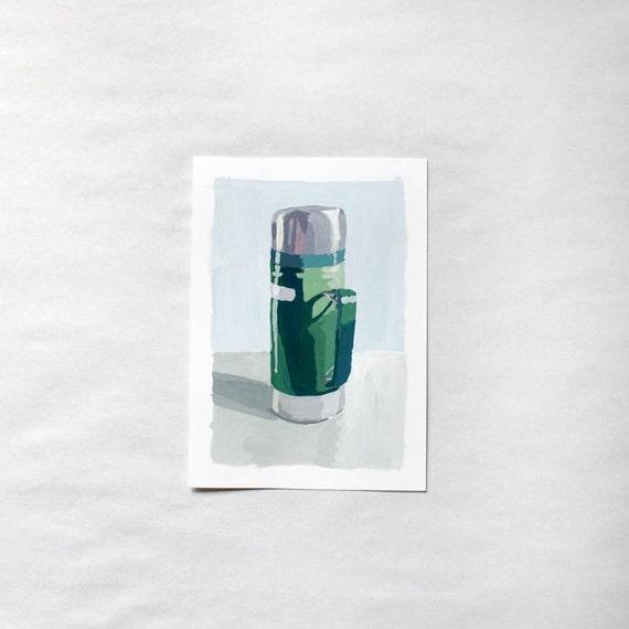 """thermos painting - original art - """"Thermos 2"""""""