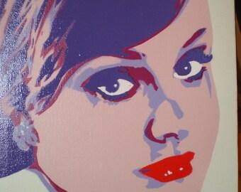 Adele (purple)