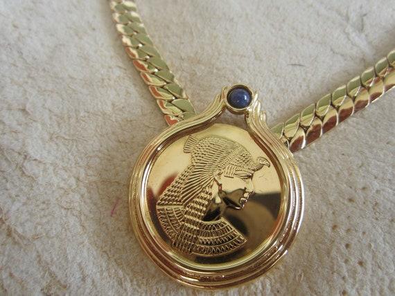 Cleopatra Franklin Mint Necklace Vintage Jewelry