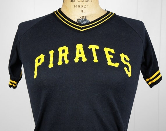 Vintage 1980's Pittsburgh Pirates Jersey Shirt - Size Youth M , XS