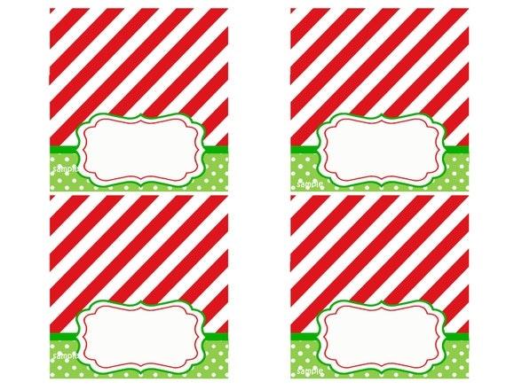 Holiday Placecards Geccetackletartsco - Christmas place cards template