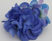 Hydrangea Hair Flower-Blue/Purple