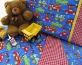 Boy toddler bedding trucks cars planes print crib sheet set 3 pc  boy nursery bedding toddler boy sheets