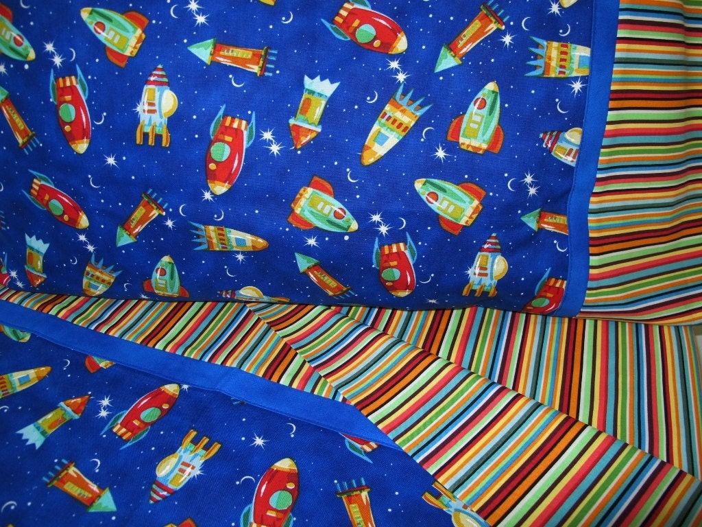 Rocket Ships Bedding Toddler Boy Bedding Rockets Crib By