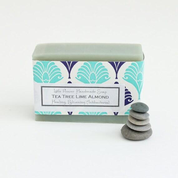Tea Tree Oil Soap, Homemade Soap, Handmade Soap, Tea Tree wash, Tea Tree Products