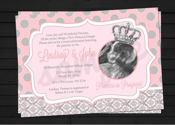 Cute Baby Shower Invitations For Girls was adorable invitation template