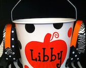Personalized Halloween Bucket/Pail