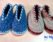 baby shoes for boys - crochet shoes - boys shoes - winter booties- boys booties - kids shoes - boys accessories - handmade shoes