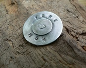 Sterling Silver Antiqued Golf Ball Marker
