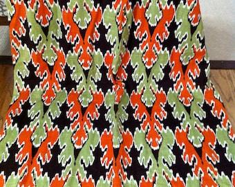 Curtains  Mod Mid Century Drapes Fabric