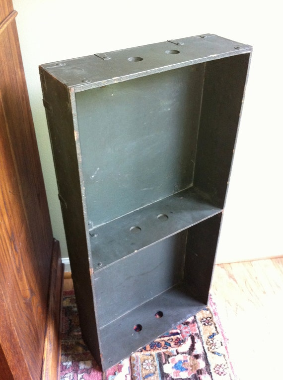 Army Foot Locker Crate Tray Military Trunk Reserved